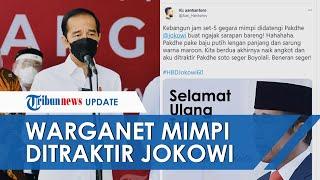Ultah Presiden Jokowi Jadi Trending Topic Twitter, Warganet Minta Sepeda hingga Mimpi Dapat Soto