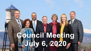 Preview image of City Council Meeting - July 6, 2020