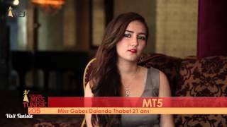 Dalenda Thabet Miss Tunisie 2015 contestant introduction