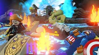"""Lego Marvels Avengers All Avengers Die! Tony Starks Nightmare Scene """"Avengers Age of Ultron"""""""