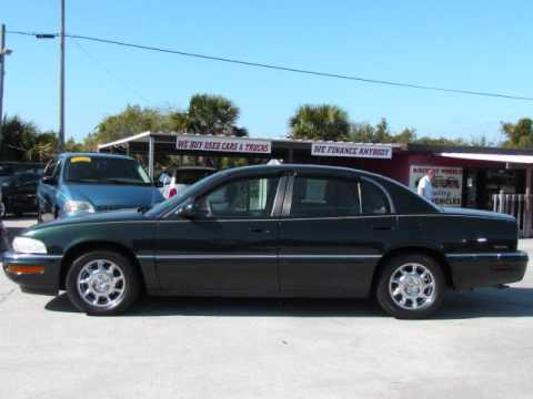 2001 Buick Park Ave at Discount Wheels in Cocoa Florida . Used for sale