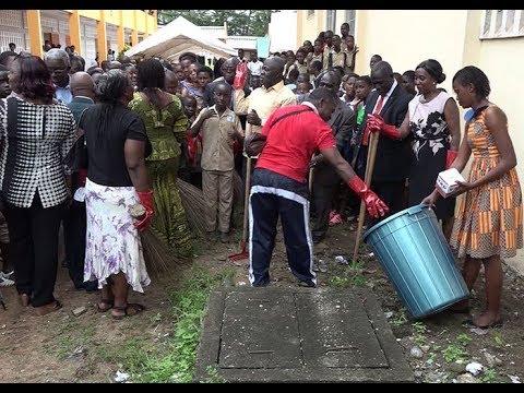 Prix propreté en milieux scolaire: 100 établissements reçoivent du matériel de nettoyage