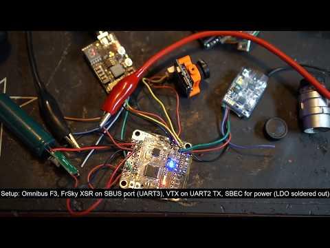 EWRF e7086TM3 VTX - FC control test/minireview