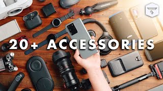 The 20+ Best SAMSUNG GALAXY S20 PLUS Accessories! (and the Galaxy S20 and S20 Ultra)