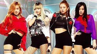 《Debut Stage》 BLACKPINK (블랙핑크)   WHISTLE (휘파람) @인기가요 Inkigayo 20160814