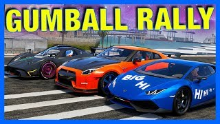 The Crew 2 Online : GUMBALL RALLY!! (Miami to Seattle)