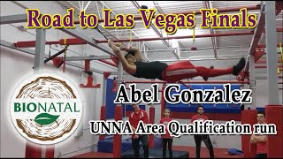 Abel Gonzalez at UNAA Area Qualification