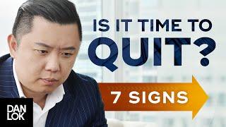 7 Warning Signs You Should Get A New Job