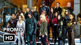 Сериалы CW, DCTV Crisis on Earth-X Crossover Promo #3 The Flash, Arrow, Supergirl, DC's Legends of Tomorrow (HD)