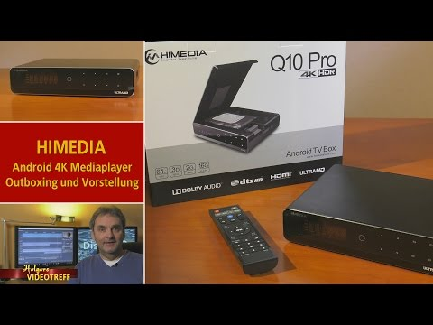 HIMEDIA Q10 Pro Mediaplayer Outboxing Test - Vorstellung