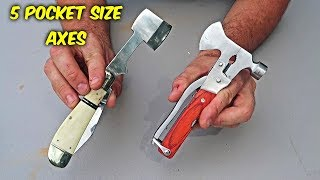 5 Pocket Size Axes