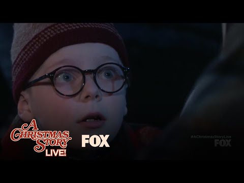 A Christmas Story Live! (Clip 'Ralphie Swears on Accident While Helping His Dad')