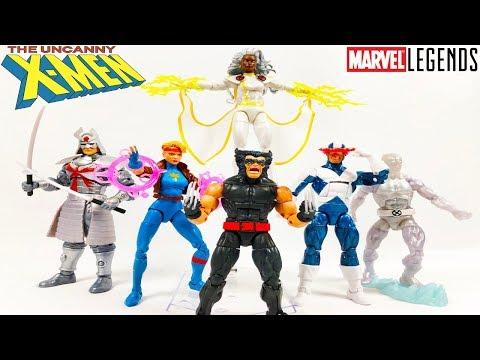 marvel-legends-xmen-retro-wave--wolverine-cyclops-storm-iceman-dazzler-silver-samurai