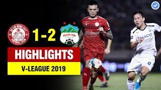 Highlights HCM 1-2 HAGL | HAGL chính thức trụ hạng với trận cầu 3 quả phạt đền tranh cãi