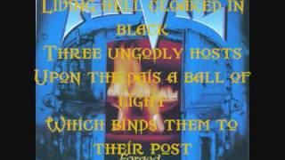 anvil - future wars w/ lyrics