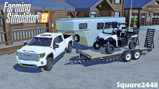 Buying A Polaris Ranger | Chickens & Horses Arrive! | New Horse Trailer | Ranch | Homeowner | FS19