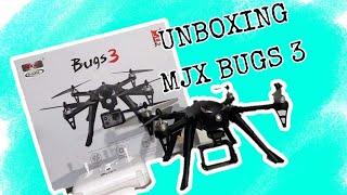 UNBOXING MJX BUGS 3 DRONE | MJX BUGS 3