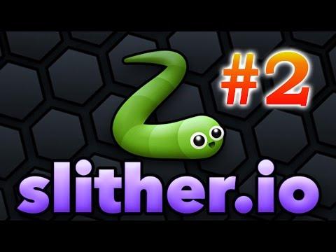 slither.io - #2 - эпические ползуны