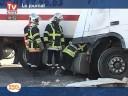 Accident mortel : Un camion s'encastre dans une maison