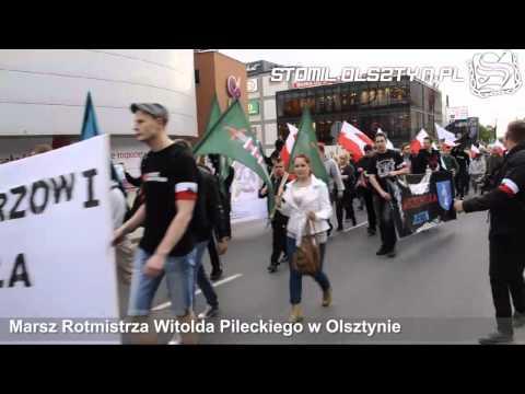 Marsz Rotmistrza Witolda Pileckiego w Olsztynie