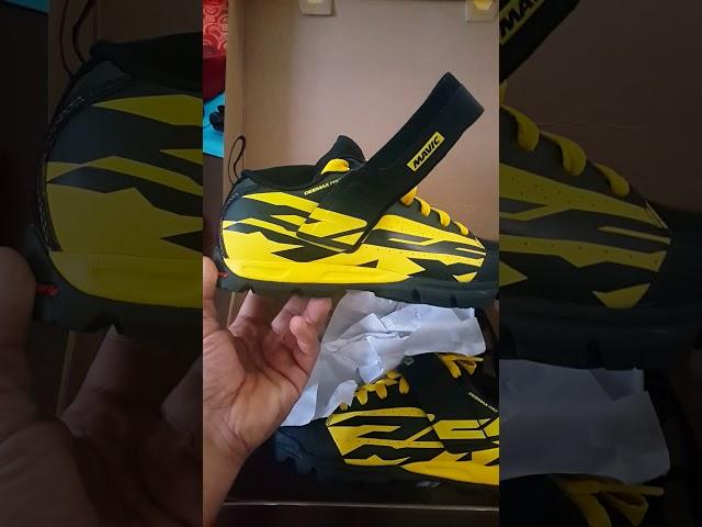 Видео Велотуфли Mavic Deemax Pro желто-черные
