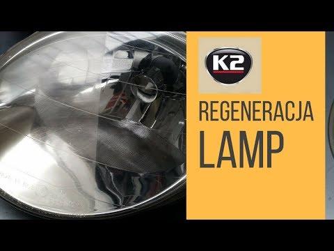 Auto esitulede poleerpasta K2 Lamp Doctor, 60g