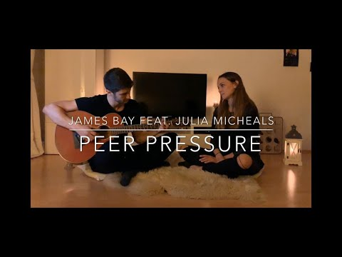 James Bay Feat. Julia Michaels - Peer Pressure | Cover By Daniel Mehrsadeh Feat. Janina Vogt