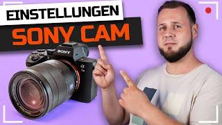 SONY Kameras für LIVE STREAMING einstellen (2020)