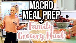 MEAL PREP + GROCERY HAUL & MEAL PLAN // COOK WITH ME 2019