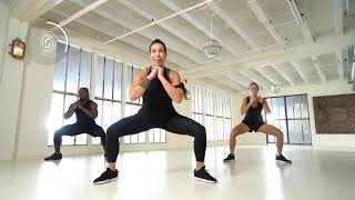 STRONG by Zumba 7 Minutes to Stronger: LEGS+GLUTES ft. Celebrity Trainer Erin Oprea