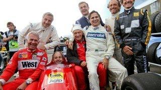 Formel 1 Grand Prix Von Österreich 2015  Legenden Parade Teil 1 HD