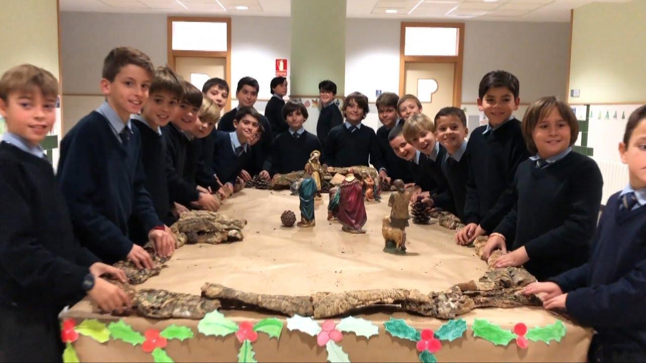"""""""Desde cuándo"""": el Villancico del Coro del Colegio para esta Navidad"""