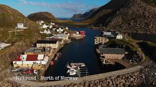 Nyksund - Vesterålen North Of Norway - Dji Phantom Mavic Air