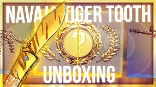CS:GO NAVAJA TIGER TOOTH UNBOXING