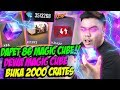 DAPET 86 MAGIC CUBE! BUKA 2000 CRATES ABISIN 3JUTA DIAMOND! - FREE FIRE INDONESIA