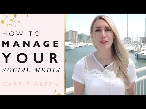 How to Manage Your Social Media - Top 3 Tips To Creating & Posting The Perfect Content!