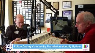 Community Foundation Update - 11-14-18