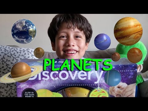 The Planets of our Solar System and Pluto the Dwarf Planet