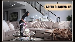 SPEED CLEAN WITH US!