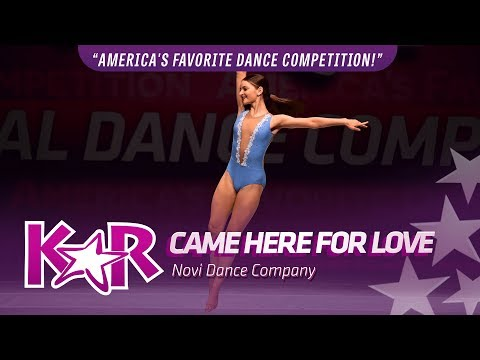 """""""Came Here For Love"""" from Novi Dance Company"""