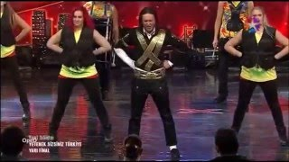 Fatih Jackson - Michael Jackson Live & Dance - Part 6 (Turkey Got Talent) #fatihjackson