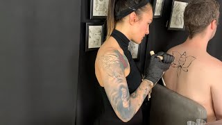 ASMR Tattoo Artist Roleplay *Filipino Tribal Tattoo Style*