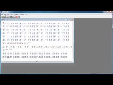 R Tutorial #2 – Math with Scalars and Vectors – Statistical Programming Language R
