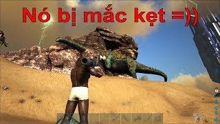 ARK: Thieves Island #8 - Hạ sát khủng long đá Titanosaur bằng Rocket =))