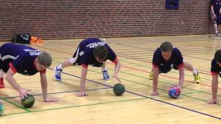 Warmup (12-18+ yrs) - Physical preparation exercise