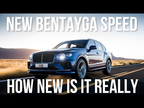 Here's What We Know About The 2021 Bentley Bentayga Speed