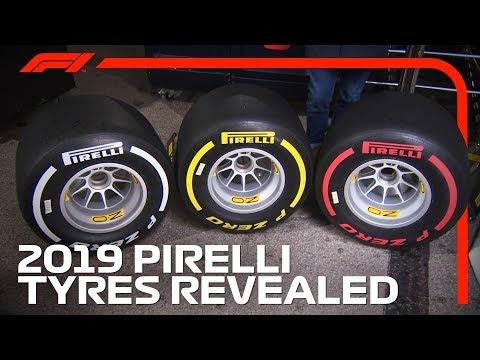 2019 Pirelli F1 Tyres Revealed