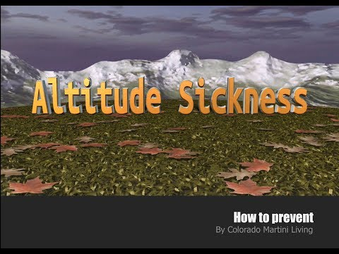 Altitude Sickness - How to Prevent