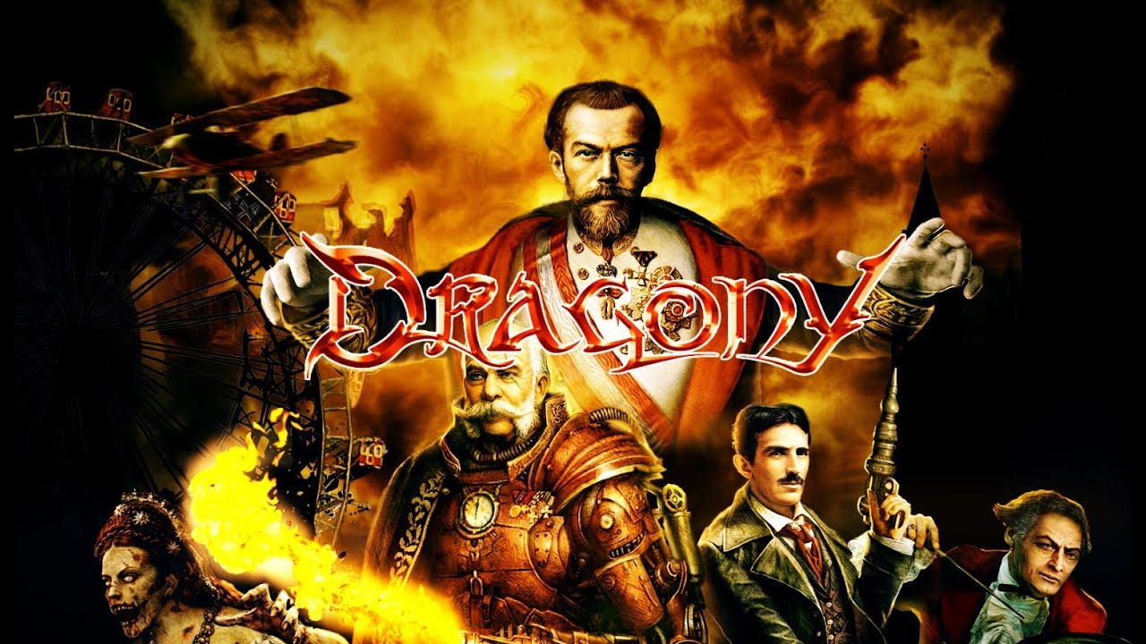 DRAGONY - Golden dawn