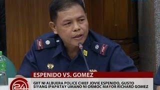 Giit ni Chief Jovie Espenido, gusto siyang ipapatay umano ni Ormoc Mayor Richard Gomez